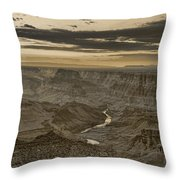 Desert View II - Anselized Throw Pillow