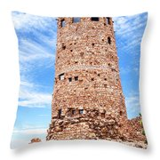 Desert View Tower, Grand Canyon Throw Pillow