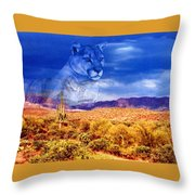 Desert Visions Throw Pillow
