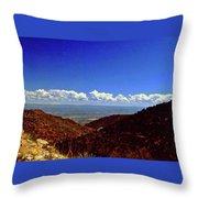 Desert Vista Throw Pillow