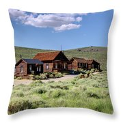 Deserted Dwellings Throw Pillow