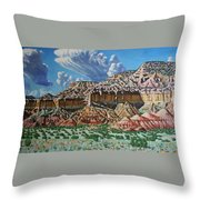 Ghost Ranch New Mexico Throw Pillow