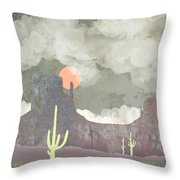 Desertscape Throw Pillow