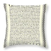 Desiderata 16 Throw Pillow