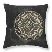 Design For A Brooch , Carel Adolph Lion Cachet, 1874 - 1945 Throw Pillow