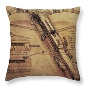 Design For A Giant Crossbow Throw Pillow