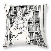 Design For The Cover Of Pierrot Throw Pillow