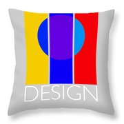 Design Poster Throw Pillow