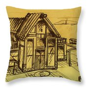 Design Sketch  Throw Pillow