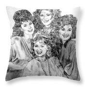Designing Women Throw Pillow