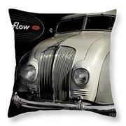 Desoto Airflow Throw Pillow