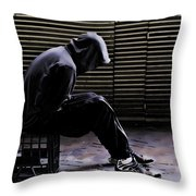 Despair Throw Pillow