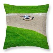 Desperate Golfer Throw Pillow