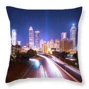 Destination Atlanta Throw Pillow