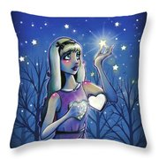 Destiny Stars Throw Pillow