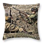 Destiny - Us Army Infantry Throw Pillow
