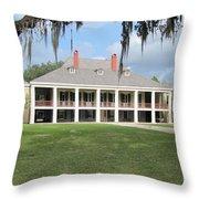 Destrehan Plantation Throw Pillow
