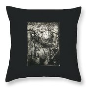 Destroy Plate Throw Pillow