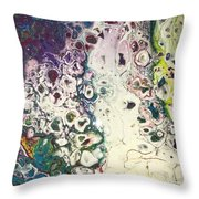 Detail Of Instagram 2 Throw Pillow by Robbie Masso