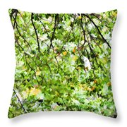 Detailed Tree Branches 4 Throw Pillow