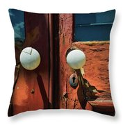 Details From The Past Throw Pillow