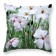 Details In Soft White Throw Pillow