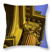 Details Palace Of Fine Arts Throw Pillow