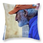 Determination Throw Pillow