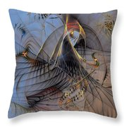 Deterministic Chaos Throw Pillow