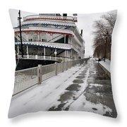 Detroit Princess  Throw Pillow