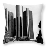 Detroit Rc From Congress Throw Pillow