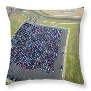 Detroit Rise/shine 1 Throw Pillow