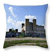 Detroit Rock City Throw Pillow