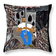 Deturdgent Throw Pillow