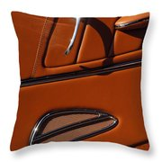 Deucenberg Hot Rod Interior Door Throw Pillow