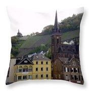 Deutsche Spire Throw Pillow