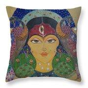 Devi Throw Pillow