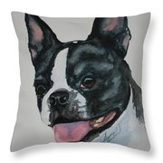 Devil Ears Throw Pillow