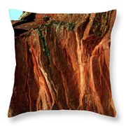 Devils Arch Throw Pillow