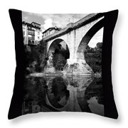 Devil's Bridge Throw Pillow