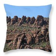 Devils Canyon Arizona Throw Pillow