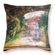Devil's Creek - Prague Throw Pillow