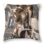 Devils Dance Throw Pillow