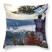 Devil's Doorway Throw Pillow