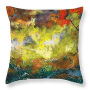 Divinely Inspired Throw Pillow