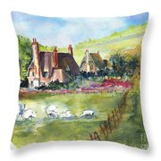 Devonshire Throw Pillow