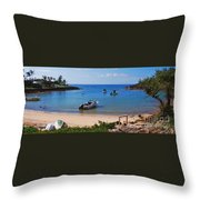 Devonshire Bay Panoramic Throw Pillow