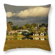 Devoran, Cornwall, Uk Throw Pillow