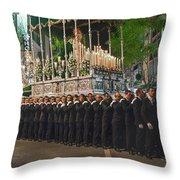 Devotion To The Faith Throw Pillow