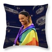 Dewanna Bonner Lgbt Pride 5 Throw Pillow